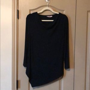 Navy Blue Chicos Blouse